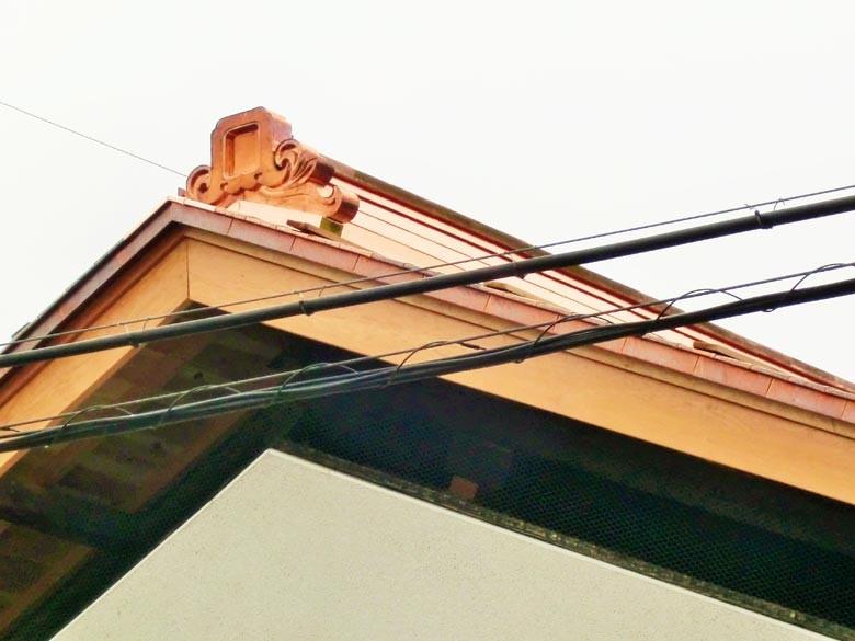 屋根も棟も完了しました