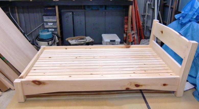 すのこも檜で造ります