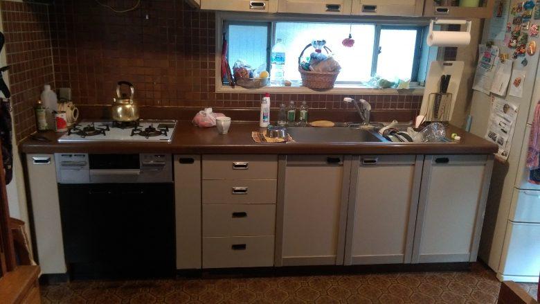 既存キッチンです