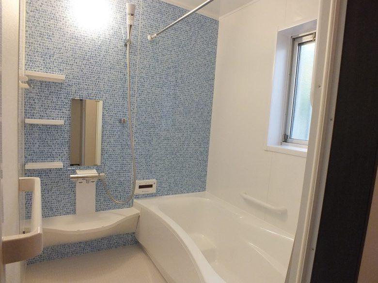 明るい浴室になりました