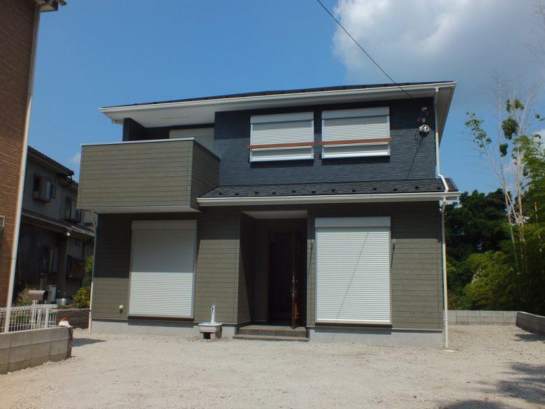 素敵な家が完成しました