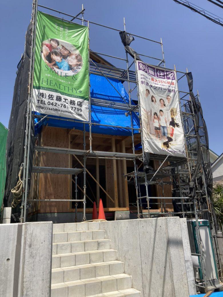An image of 新築工事S様邸
